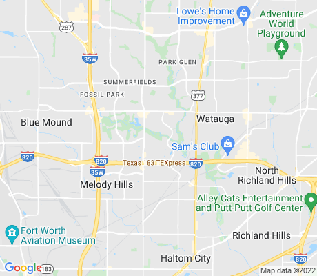 map of Fossil apartments for rent