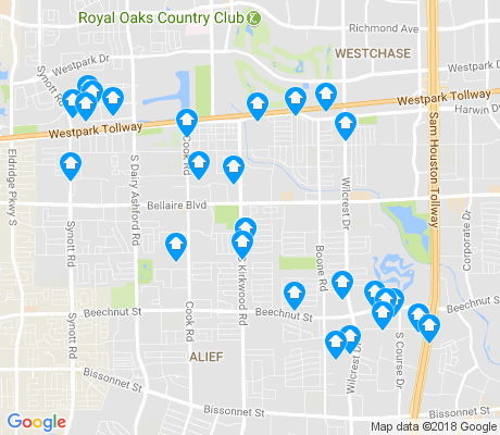 map of 77072 apartments for rent