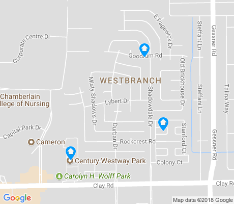 map of Westbranch apartments for rent