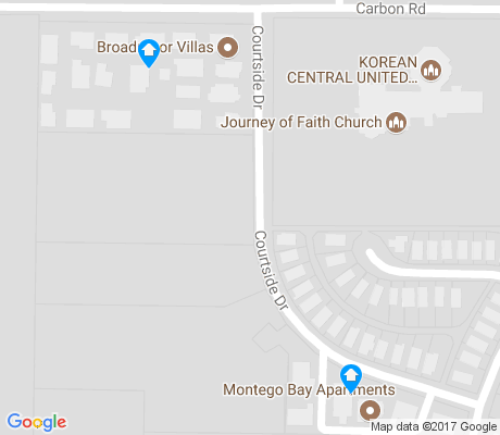 map of Broadmoor Hills apartments for rent