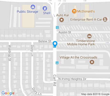 map of Grauwyler Heights apartments for rent