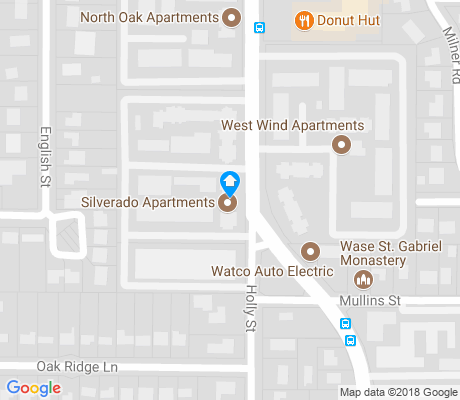 map of North Austin Heights apartments for rent