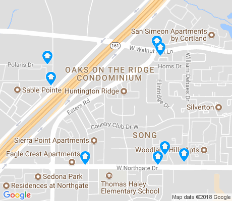 map of Song apartments for rent