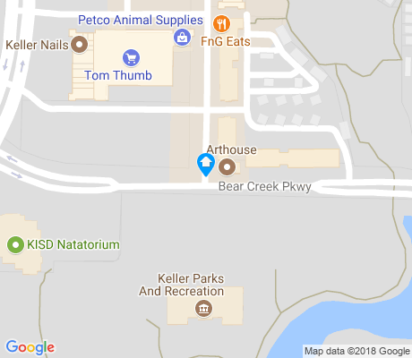 map of Keller Town Center apartments for rent