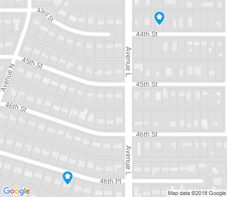map of Ballenger apartments for rent