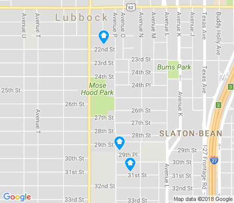 map of Slaton-Bean apartments for rent