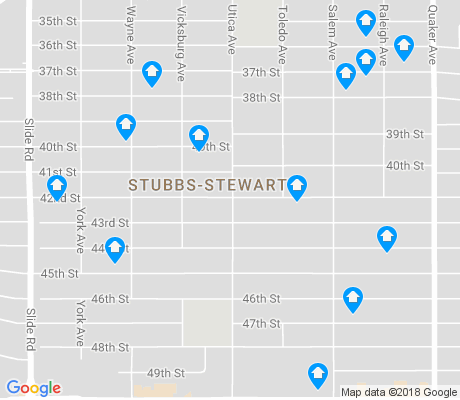 map of Stubbs-Stewart apartments for rent