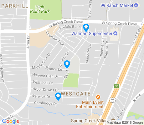 map of Clearview apartments for rent