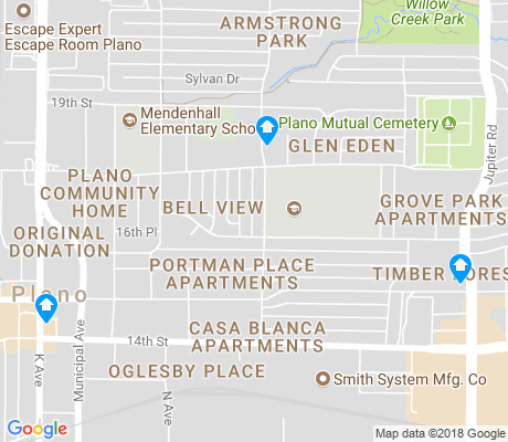 map of Old Towne apartments for rent