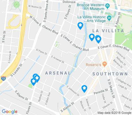 map of Arsenal apartments for rent