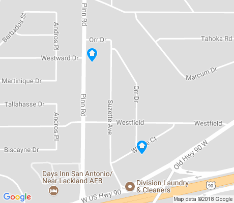 map of Cable Westwood apartments for rent