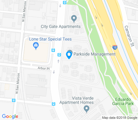 map of Cattleman Square apartments for rent