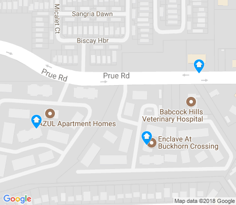 map of Country View Village apartments for rent