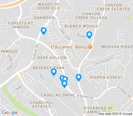 map of Deerfield apartments for rent