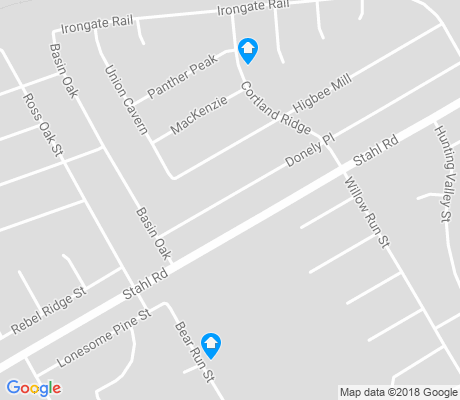 map of Fox Run apartments for rent