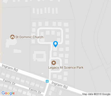 map of Ingram Hills apartments for rent
