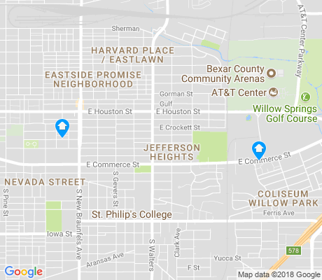 map of Jefferson Heights apartments for rent