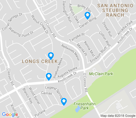 map of Longs Creek apartments for rent