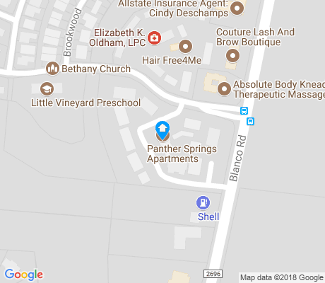 map of Mission Ridge apartments for rent