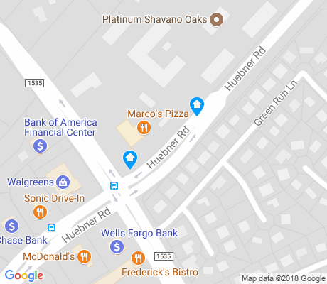 map of Oak Meadow apartments for rent
