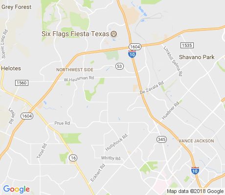 map of Oakmont Downs apartments for rent