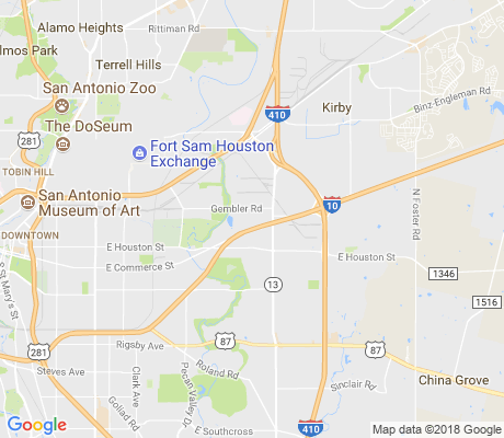 map of Skyline Park apartments for rent