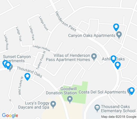 Thousand Oaks San Antonio Apartments For Rent And Rentals Walk Score - Thousand oaks map