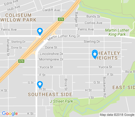 map of Wheatley Heights apartments for rent