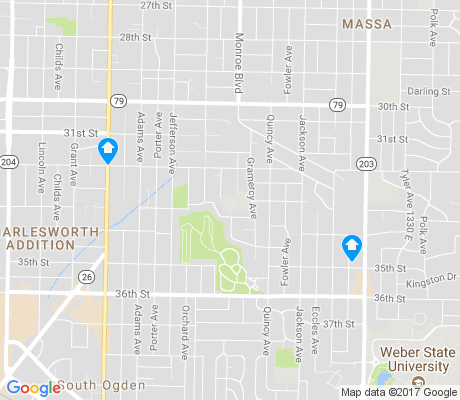 map of T.O. Smith apartments for rent