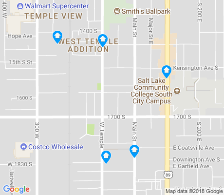 map of People's Freeway apartments for rent