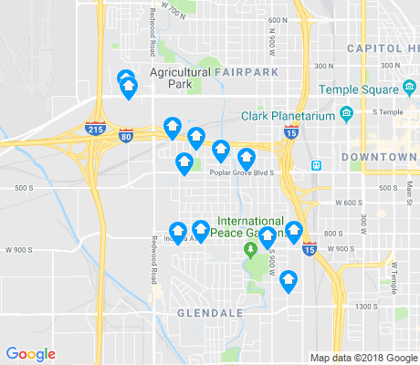 map of Poplar Grove apartments for rent
