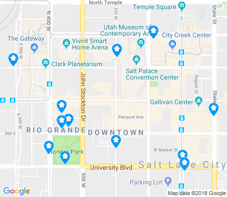 map of Rio Grande apartments for rent