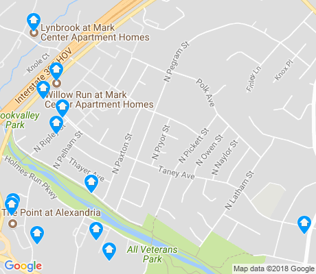 map of Brookville - Seminary Valley apartments for rent