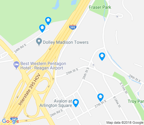 map of Long Branch Creek apartments for rent