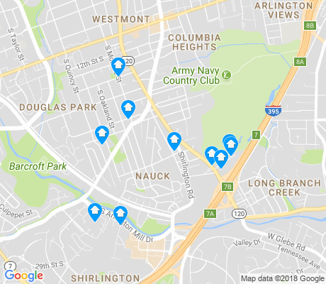 map of Nauck apartments for rent