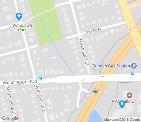 map of Waycroft - Woodlawn apartments for rent