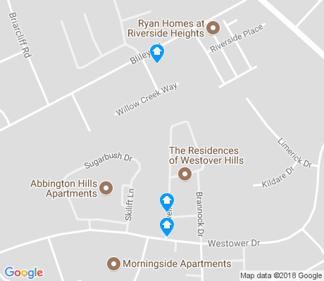 map of Cedarhurst apartments for rent