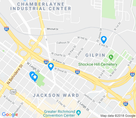 map of Gilpin apartments for rent