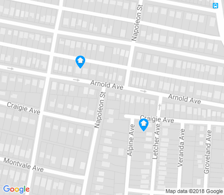 map of Highland Terrace apartments for rent