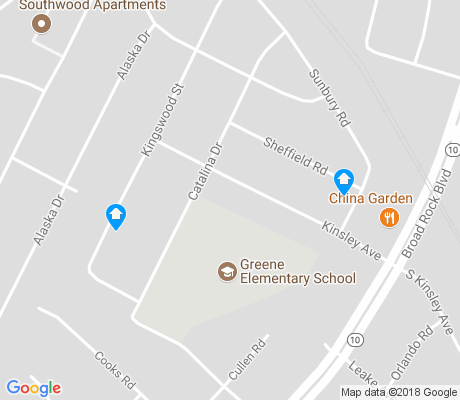 map of McGuire Manor apartments for rent