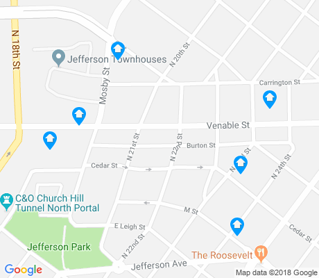 map of Union Hill apartments for rent