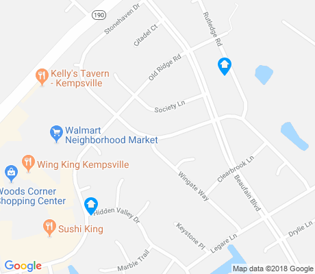 map of Charlestowne apartments for rent