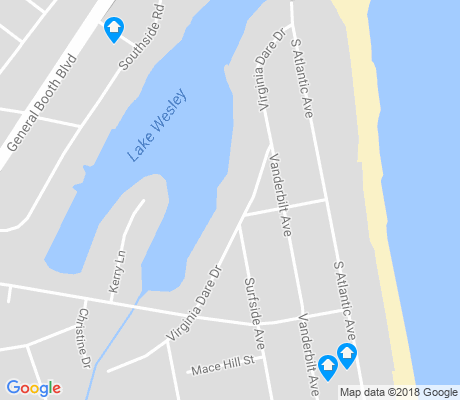 map of Croatan apartments for rent