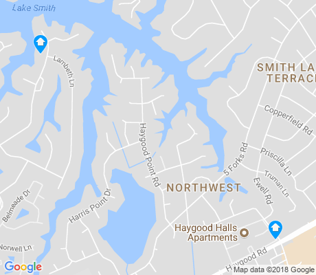 map of Haygood Point apartments for rent