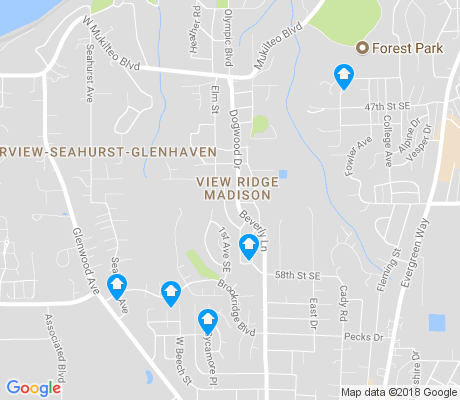 map of View Ridge Madison apartments for rent
