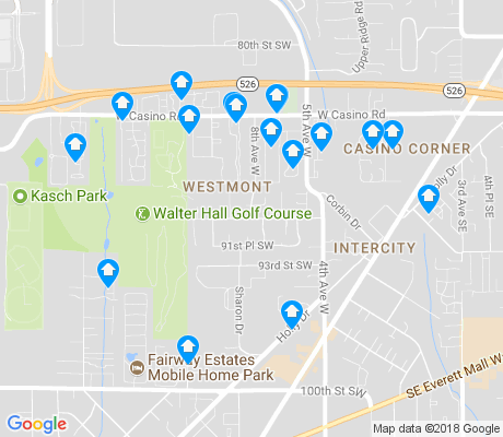 map of Westmont apartments for rent