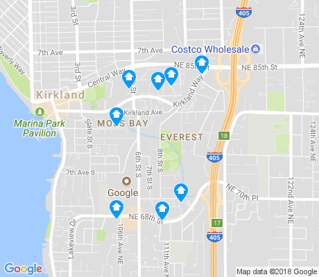 map of Everest apartments for rent