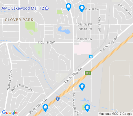 map of Pacific apartments for rent
