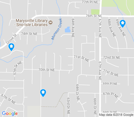 map of Jennings Park apartments for rent