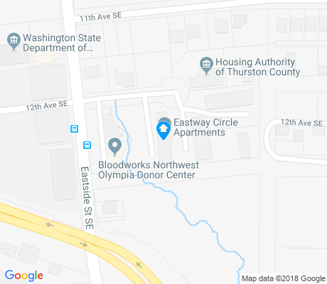 map of Eastside apartments for rent